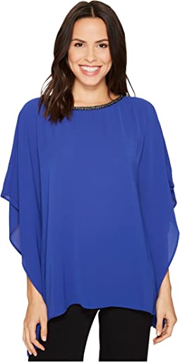 MICHAEL Michael Kors - Chain Neck Detail Top