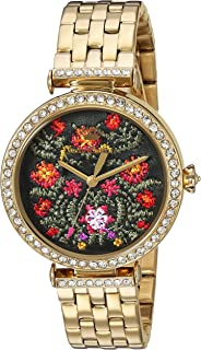Juicy Couture Women's 'J Couture' Quartz Stainless Steel Casual Watch, Color:Gold-Toned (Model: 1901516)