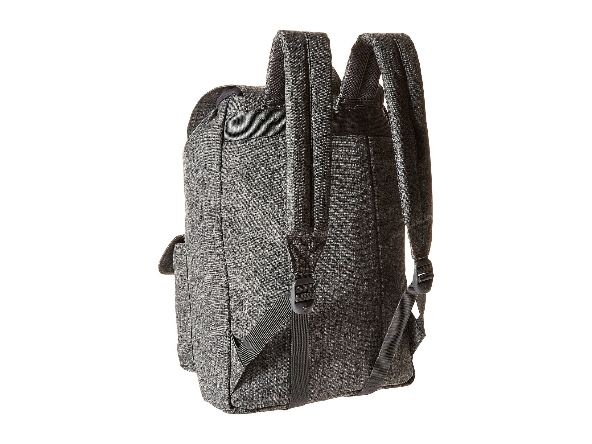 Raven Crosshatch Co black Herschel Supply Leather Dawson Synthetic 7tqHA
