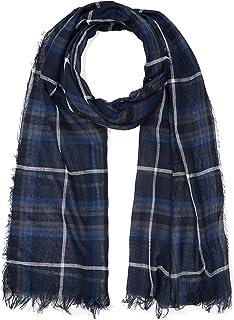 Celio herensjaal, blauw (blauw blauw), één maat (fabrikantmaat: TU)