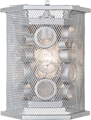 Amazon.com: Troy B7111 Pilsen - Aplique de pared (1 luz, 60 ...