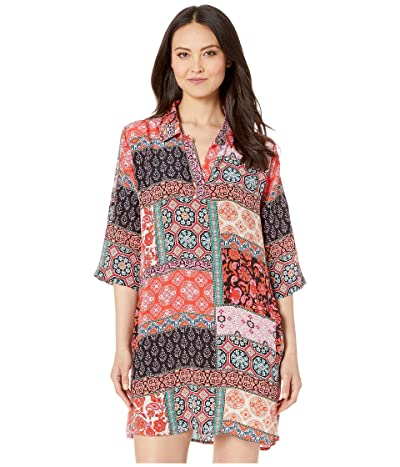 Tolani Peyton Tunic Dress (Tiles) Women