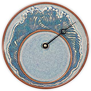 Georgetown Pottery Tide Clock - Purple Wave