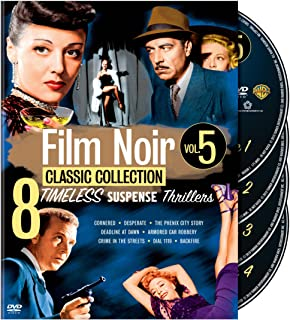 Film Noir Classic Collection: Volume 5 (Cornered / Desperate / The Phenix City Story / Deadline at Dawn / Armored Car Robbery / and more)
