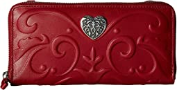 Brighton Cordoba Large Zip Wallet