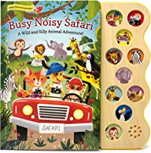 Busy Noisy Safari: Interactive Children's Sound Book (Interactive Early Bird Children's Song Book with 10 Sing-Along Tunes)