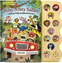 Busy Noisy Safari: Interactive Children's Sound Book (10 Button Early Bird Sound Book) (Early Bird Sound Books)