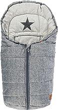Kaiser 653376223 Anna - Saco de abrigo para cochecito de bebé, diseño de estrella, color gris