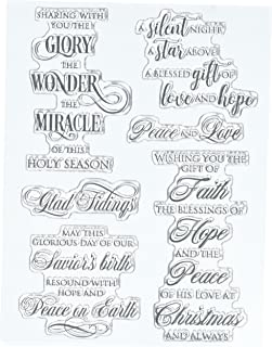 Penny Black Series Clear Stamp Set 30-438 Peace & Love