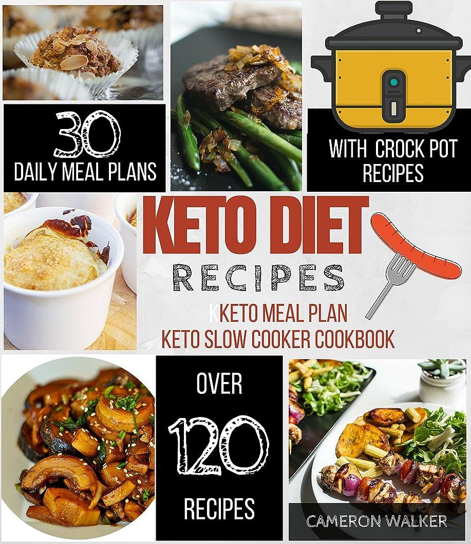 KETO DIET RECIPES: KETO MEAL PLAN, KETO SLOW COOKER (English Edition)