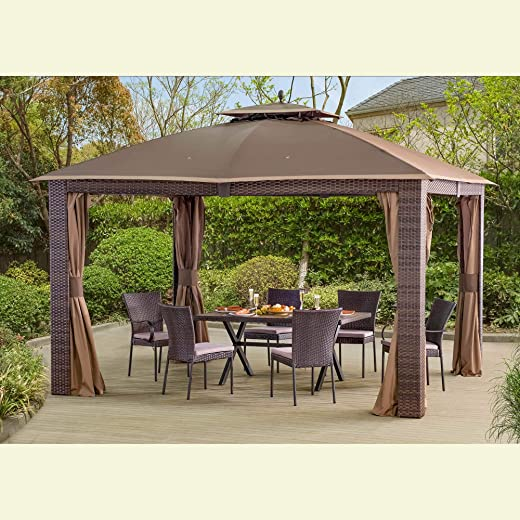 B06XTCD8CB✅Sunjoy Replacement Mosquito Netting  for 10 x 12 ft Sonoma Gazebo
