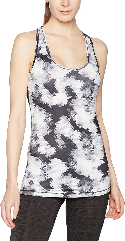 (XLarge, Black White Explosive Print)  Puma Women's Essential Layer Graphic Tank Top