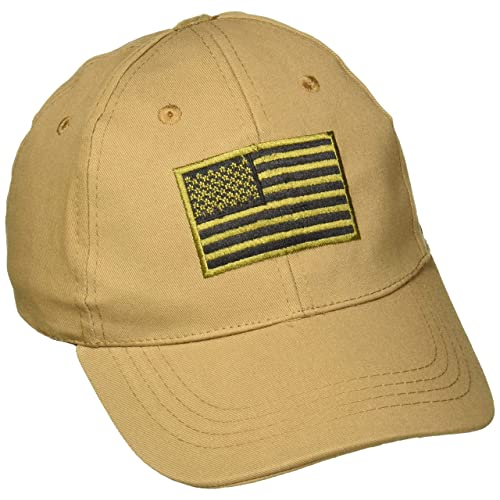 Voodoo Tactical 20-9353 Contractor Baseball Cap w Sewn on Flag 4dacc045a0ca