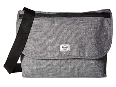Herschel Supply Co. Grade (Raven Crosshatch) Messenger Bags