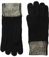 COACH - Metallic Foil Gloves