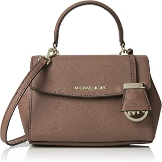 976618dcc47d Amazon.com: Michael Michael Kors Ava Extra Small Saffiano Leather ...