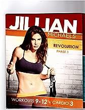 Jillian Michaels Body Revolution Phase 3-workout 9-12 Plus Cardio 3 (5 DVD Set)