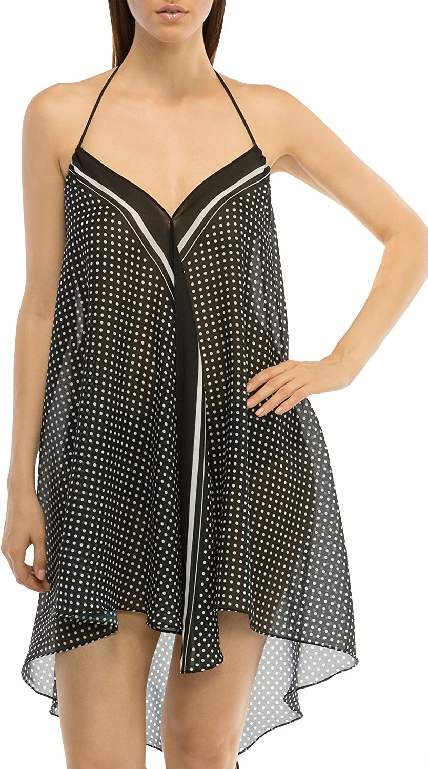 Coco Reef Polka Dot Print Congreenible Bathing Suit Cover Up