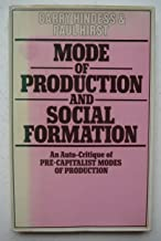 Mode of production and social formation: An auto-critique of precapitalist modes of production