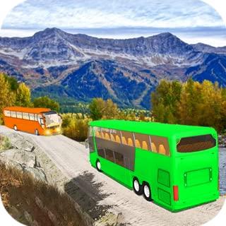 Drive Hill Coach Bus Simulator : Bus Game 2019