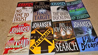 8 Iris Johansen Books--Quicksand, Stalemate,The Search,Killer Dreams,No One to Trust ,Final Target, The Ugly Duckling, Silent Thunder