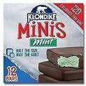 Klondike Ice Cream Bars, Mint Chocolate Mini, 12 ct (frozen)