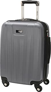Nimbus 2.0 20-Inch 4 Wheel Expandable Carry-On, Silver