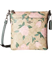 COACH Camo Rose Messenger Crossbody