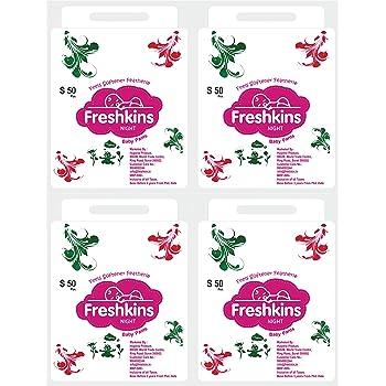 Freshkins Baby Night Diaper Pant Small - (Pack of 4, 200 Unit)