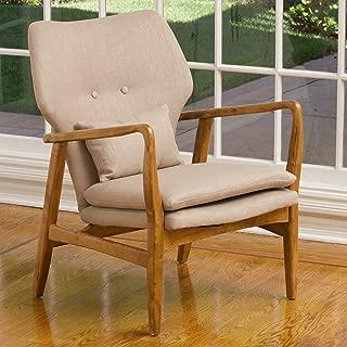 Christopher Knight Home 238434 Haddie Accent Chair, Beige