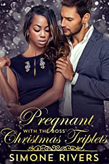 Pregnant with the Boss' Christmas Triplets (Frost Billionaire Brothers BWWM Holiday Romance)