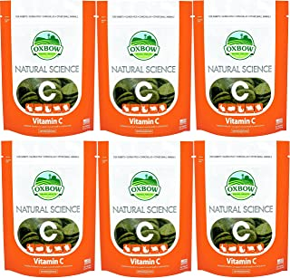 Oxbow (6 Pack) Natural Science Small Animal Vitamin C Supplement - 60 Count