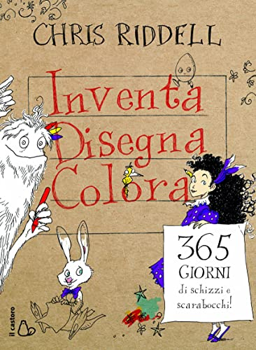Books By Chris Riddell G Scarfone_inventa Disegna Colora 365 ...