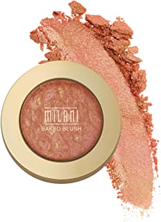 Milani Baked Blush - Rose D`Oro (0.12 Ounce) Cruelty-Free Powder Blush - Shape, Contour & Highlight Face for a Shimmery or Matte Finish