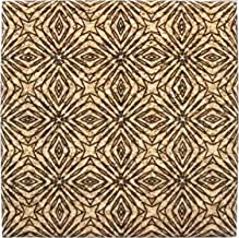XL Coasters Kaleidoscope (9 Inch) – Oversized cork absorbent drink coaster