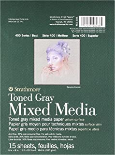 Strathmore 400 Series Toned Gray Mixed Media Pad, 6