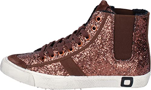 D.A.T.E. (DATE) Turnzapatos mujer Glitter Bronce