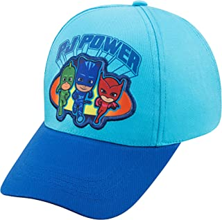 PJ Masks Toddler Boys Baseball Cap - Age 2-4 Light-Blue