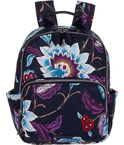 Vera Bradley Performance Twill Small Backpack (Mayfair in Bloom) Backpack Bags