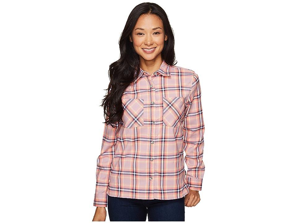 Mountain Hardwear Stretchstone Boyfriend Long Sleeve Shirt (Dusty Orchid) Women