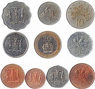 10 عملات قابلة للتحصيل من أمريكا الجنوبية والشمالية وأوروبا وآسيا وأفريقيا والشرق الأوسط. جميع مجموعات العملات العالمية