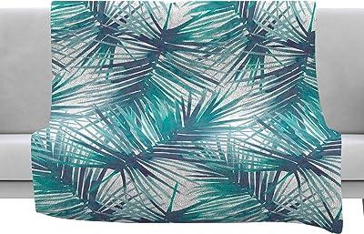 Kess InHouse Fimbis AztecToo Multicolor Purple Digital Throw 60 x 40 Fleece Blankets
