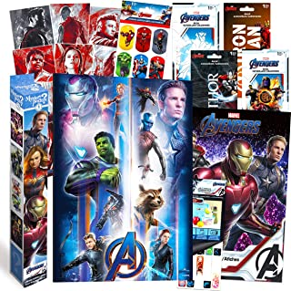 Marvel Avengers Decorations Artwork Wall Art Ultimate Bundle ~ 72 Pcs Avengers Posters, Stickers, Decals for Walls Laptop ...