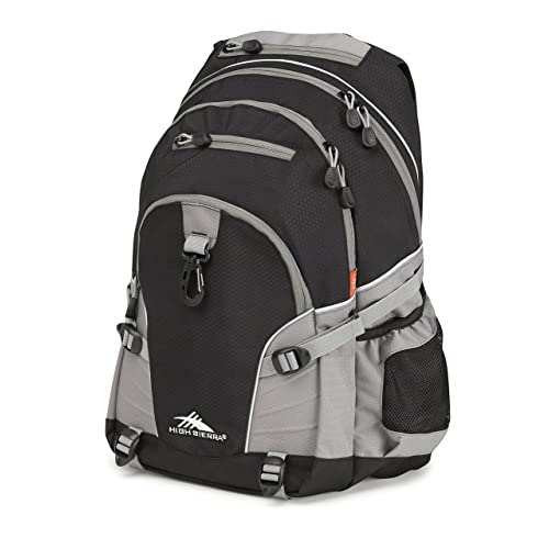High Sierra Loop Backpack - with Compression Straps - Ideal Backpack for  Men and Women - a078ecf52bc7