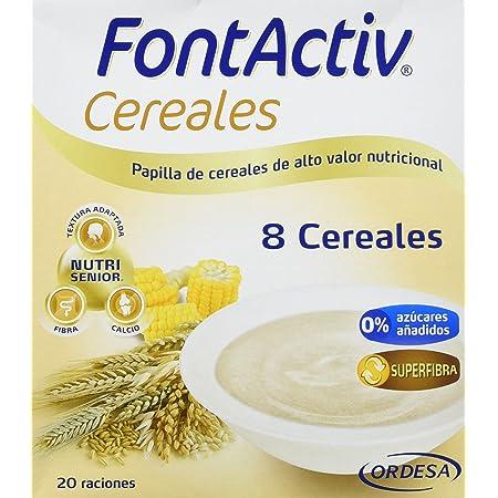 Fontactiv Cereales con Cacao 600 grs papilla de cereales de ...