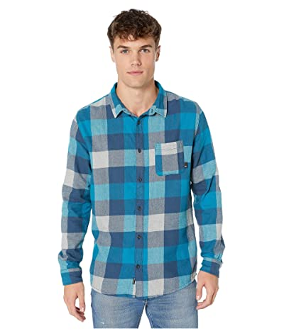Quiksilver Motherfly Flannel (Crystal Teal Motherfly) Men
