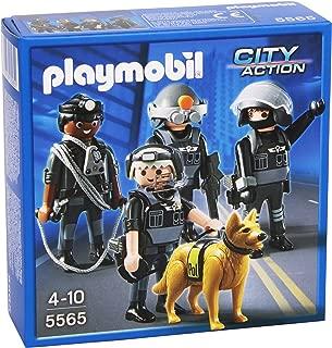 PLAYMOBIL® Tactical Unit Team Play Set
