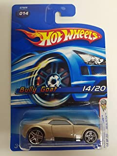 Bully Goat Champagne Color Way 2005 First Editions Hot Wheels diecast car No. 014
