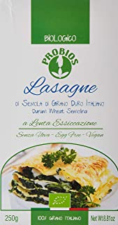 Probios Organic Pasta Lasagne White Wheat, 250 g