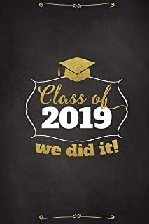 Chalkboard Personalized Banner, Graduation Banner, Class of 2019, University Graduation Poster, Graduation Party Banner, Graduation, Party Banner, Handmade Party Supply, Size 36x24, 18x24